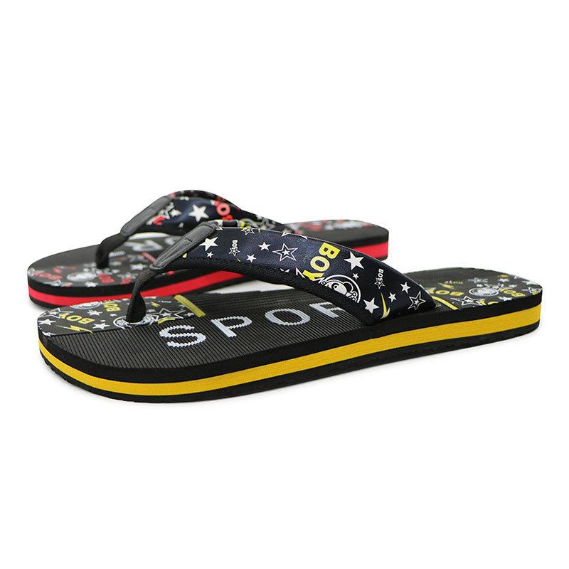 Hot Sale Customized Non-slip Print Summer Flip Flops Factory Price