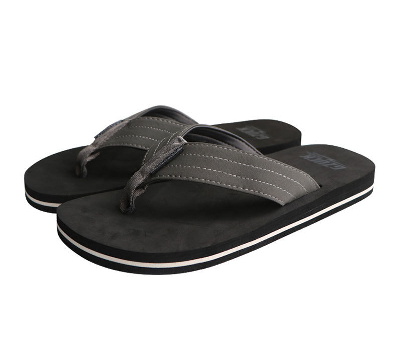 Top Selling Men Beach Thick Sole Flip Flop Slippers for Summer