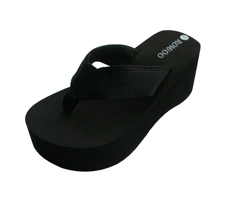 Fashion Ladies Sandals Wedges High Heeled Slipper Wholesale