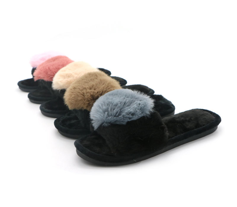 Hot Sale Fur Slippers High Quality Women Slide Shoes
