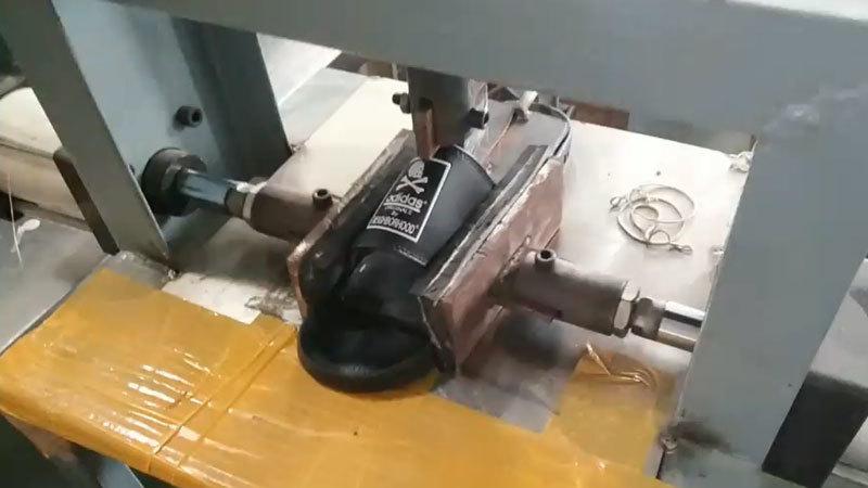 Slides Shoes Compressor Machine For Slides Flip Flop