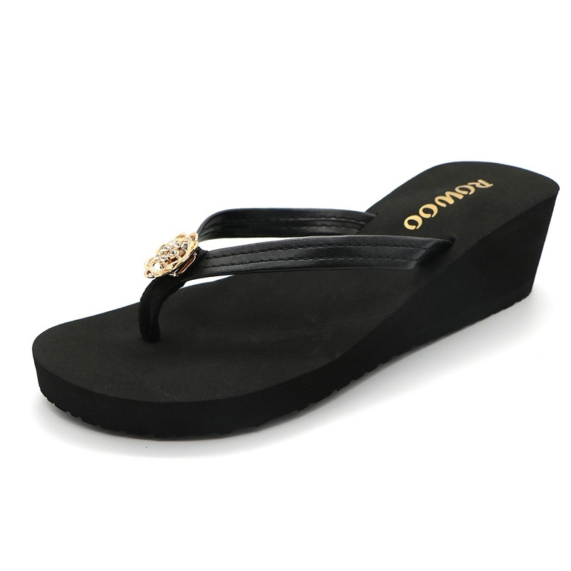 Women Sandals High Heel Sandals Wedge Slipper