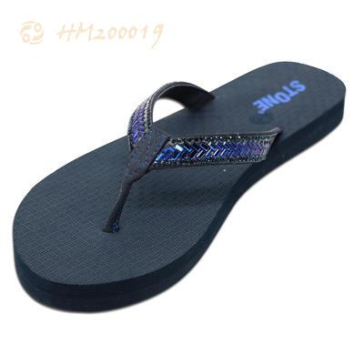 Women Bling Flip Flops Flat Crystal Sandals Wholesale