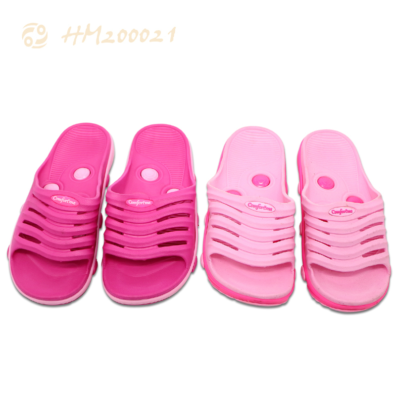 Women Slides EVA Massage Pink Lightweight Sandals