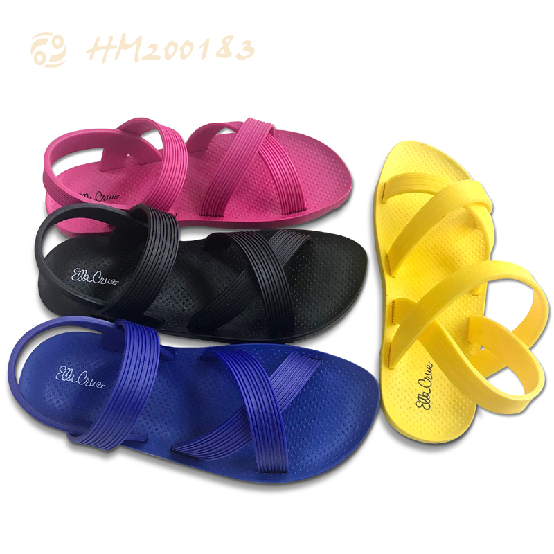 PVC Child Slipper Sandals Casual Beach Sandals for Summer