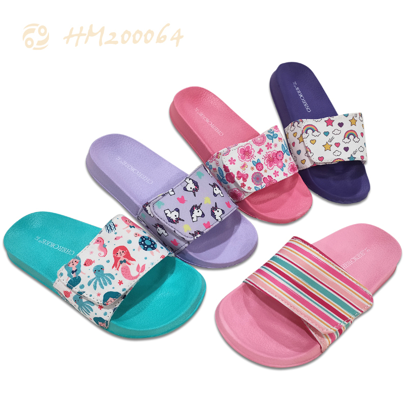 Custom Child Slides Sandals For Kids Slipper Factory Price