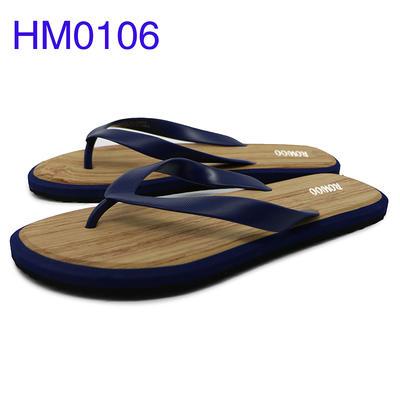 Men EVA Flip Flops Customized Logo Beach Slippers