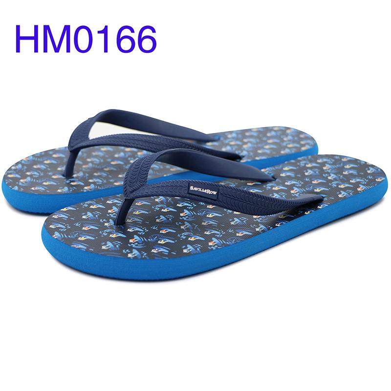 Rowoo mens black flip flops