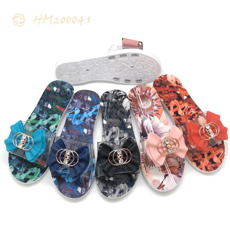 Wholesale Ladies Camouflage Slide Sandals Dressy Slippers