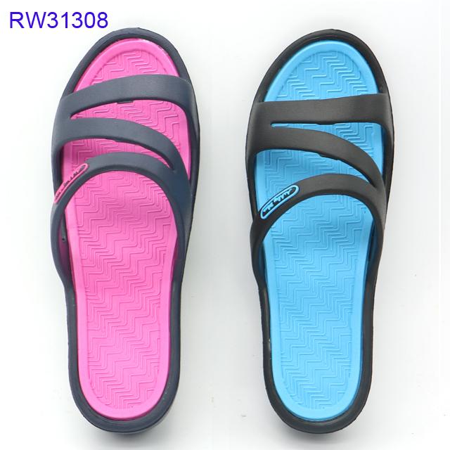 Women's Slide Sandals Poor Sneaker 3 Straps Factory Price