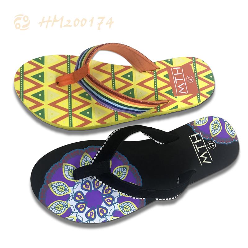 2021 New Ladies Flip Flops Indoor Outdoor Sandals for Women
