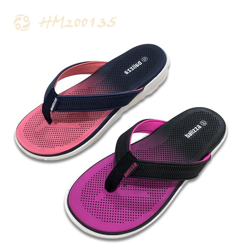 Custom Women Fashion Flip Flops Gradient Slides