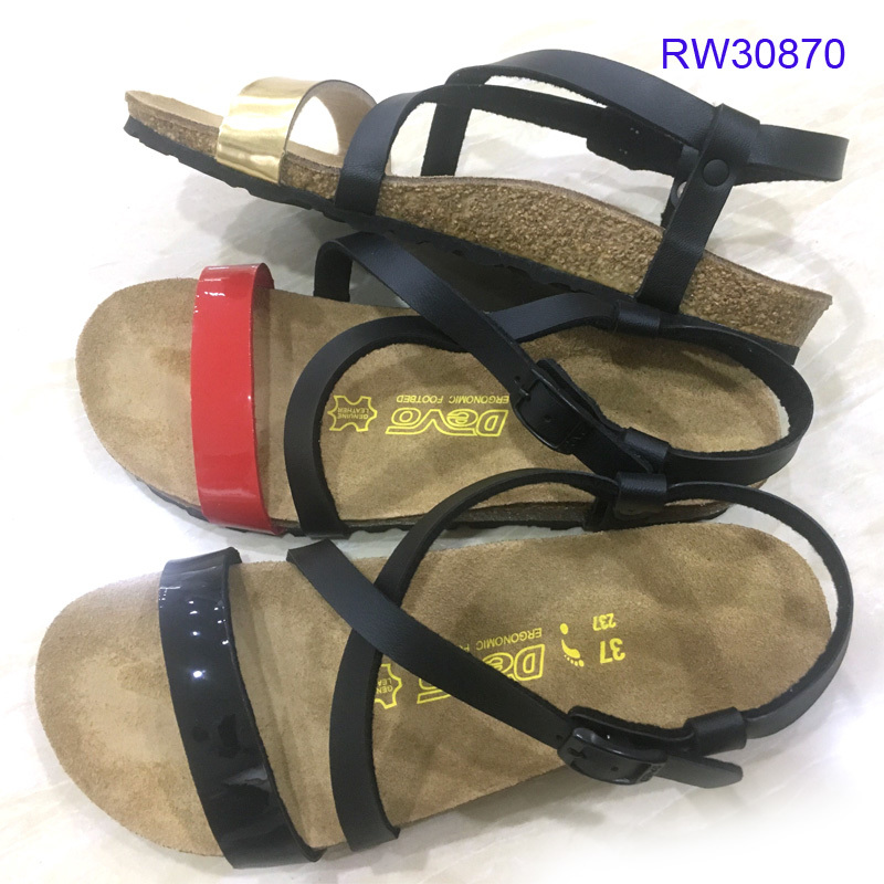 High-quality Women Cork Sandals Casual Sipplier