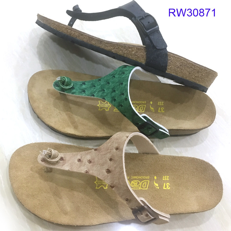Women Cork Flip Flops Beach Summer Sandals Wholesale