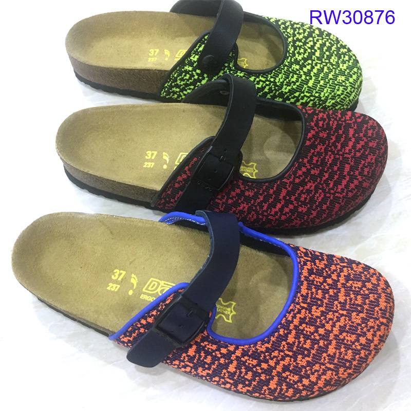 Custom Women Cork Sandals Design Slides Wholesale