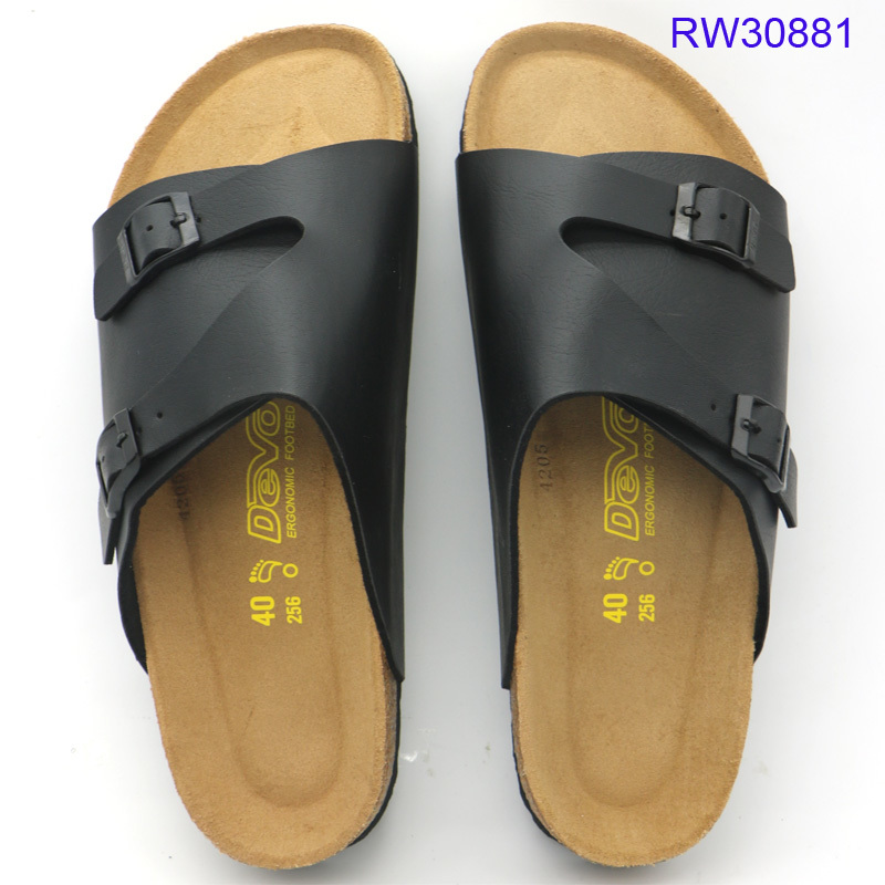 Wholesale Men Women Cork Slide Sandals Factory Price