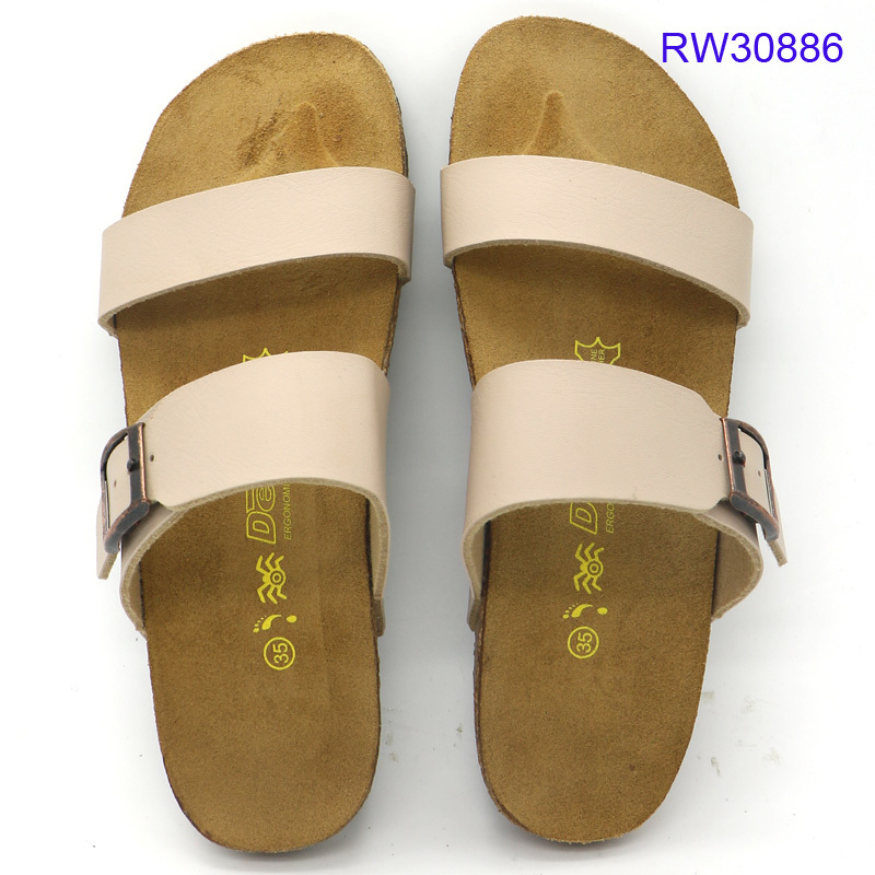 High-quality Women Cork Sandals Slip-on Shoes Wholesale