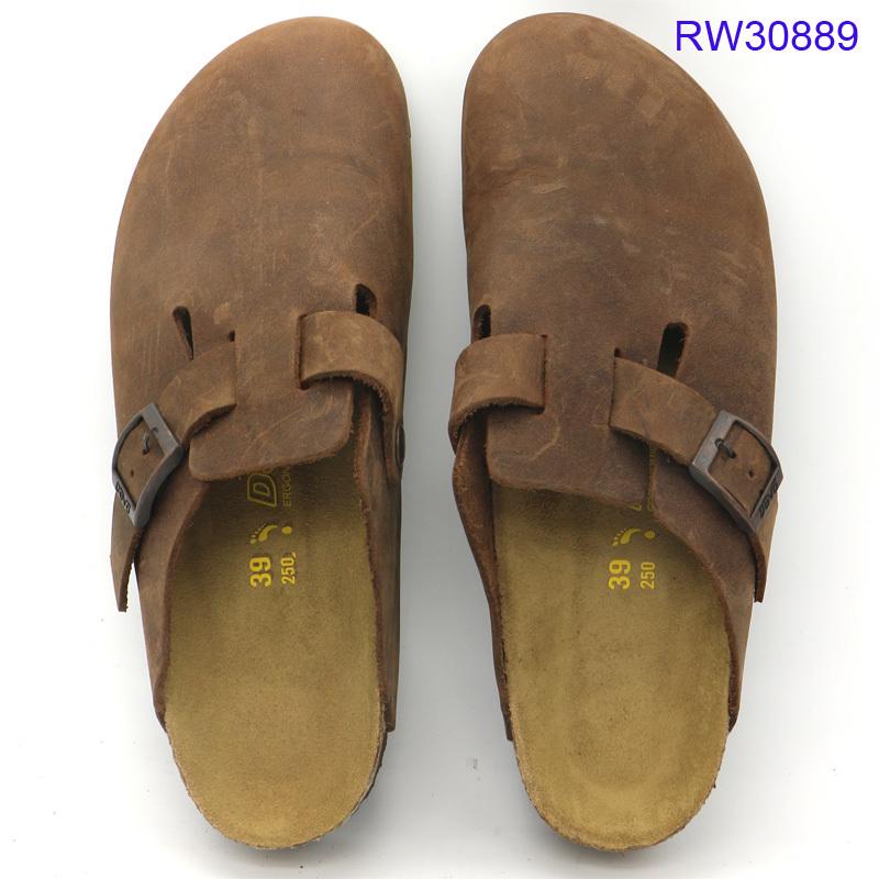 Custom Women Cork Sandals Closed Toe Shoes Mules Wholesale
