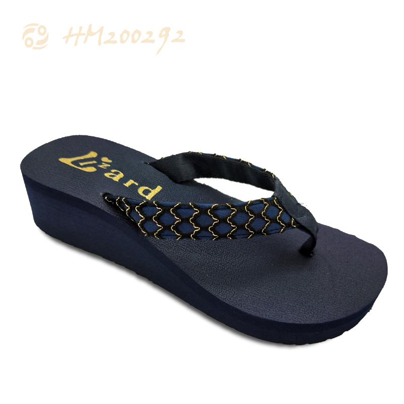 Newest Wedge Sandals Women Flip Flops Comfortable High Heel Slippers