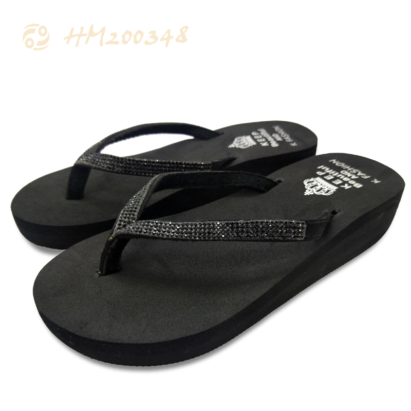 Wedge Slippers Womens Heel Ladies Sandals Shoes