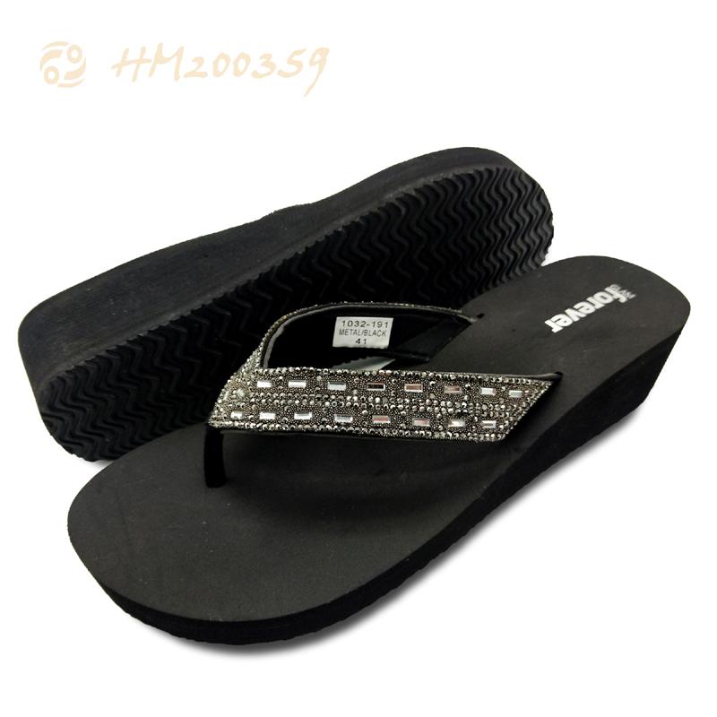Women Wedge Sandals Diamond Platform Flip Flop Wholesale