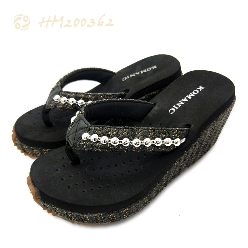 Women Sandals High Heel Sandals Wedge Fashion EVA Slipper Summer For Ladies