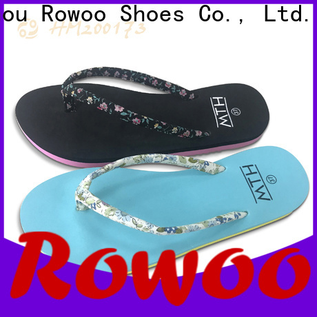 Rowoo most comfortable flip flops for women factory price