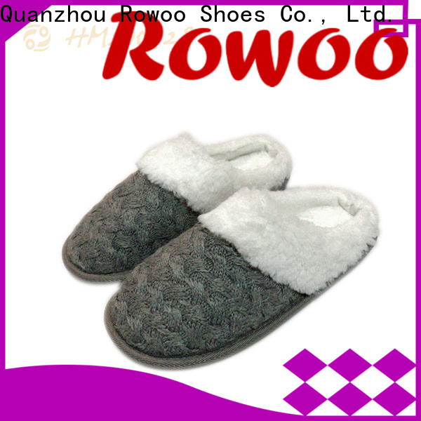 Rowoo Wholesale mens shower slippers factory price