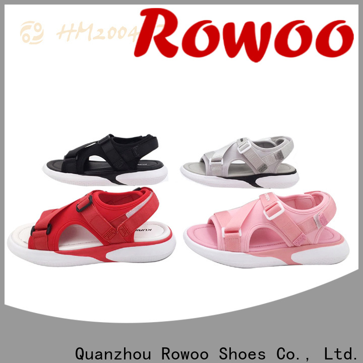 Rowoo china design your own sandals best price