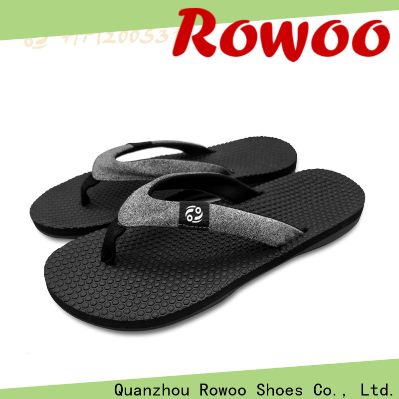 Rowoo china flip flop slippers for womens factory price