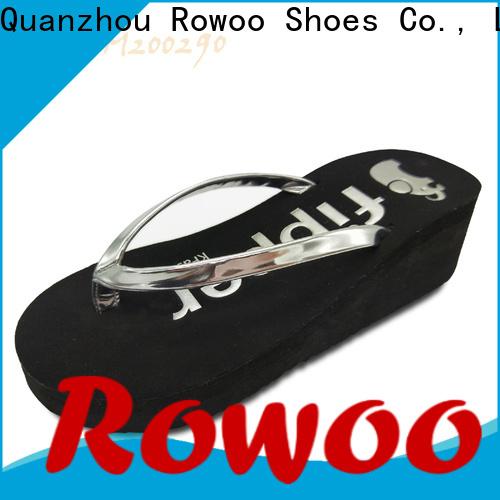 Rowoo new high heel sandal factory price