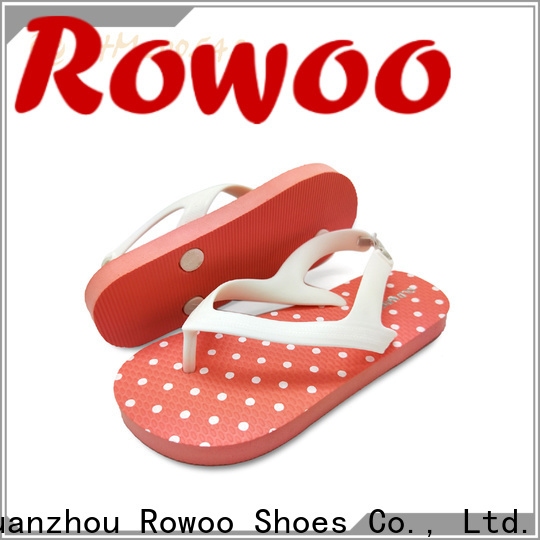 Rowoo professional children's flip flops factory price