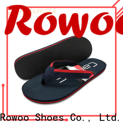 china mens leather flip flops factory price