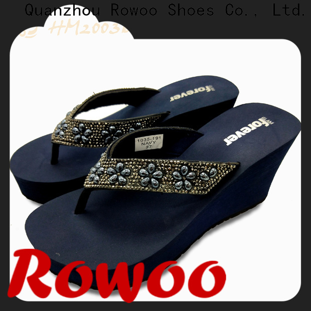 Rowoo New slippers manufacturing company manufacturer