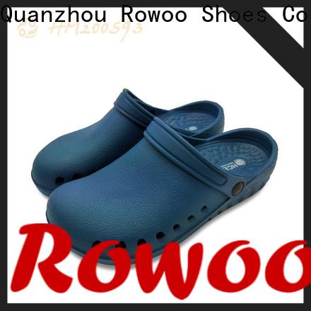 Rowoo New low heel clog sandals