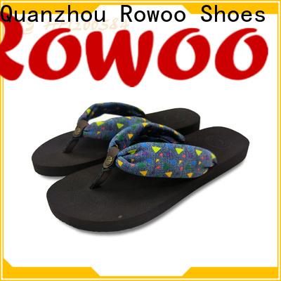 Rowoo designer flip flops womens supplier