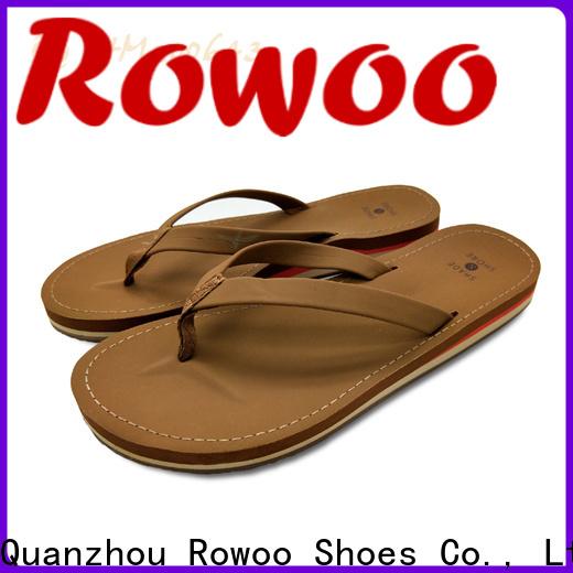 Rowoo wholesale flip flops hot sale