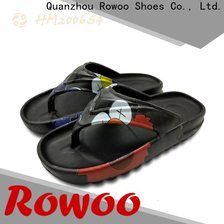 Rowoo rubber flip flops mens manufacturer