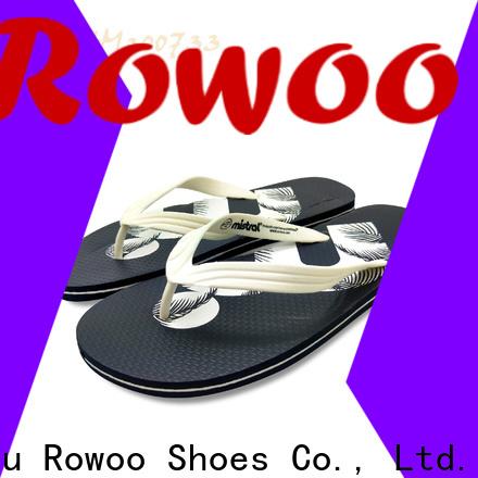 Rowoo flip flop sandals mens factory price