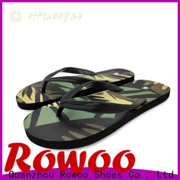 Rowoo flip flop wholesale manufacturer