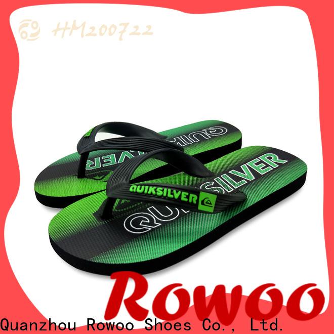 Wholesale rubber flip flops mens supplier