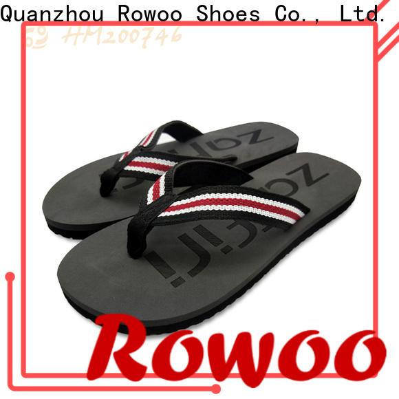 Rowoo New men flip flops best price