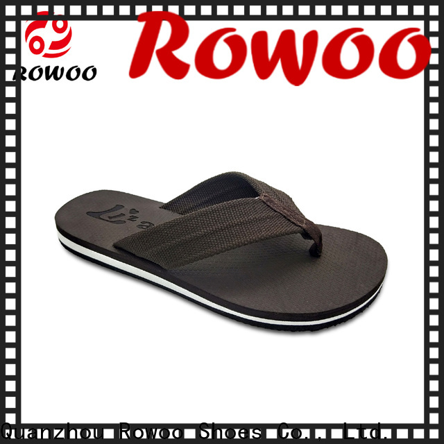 Rowoo mens thong flip flops best price