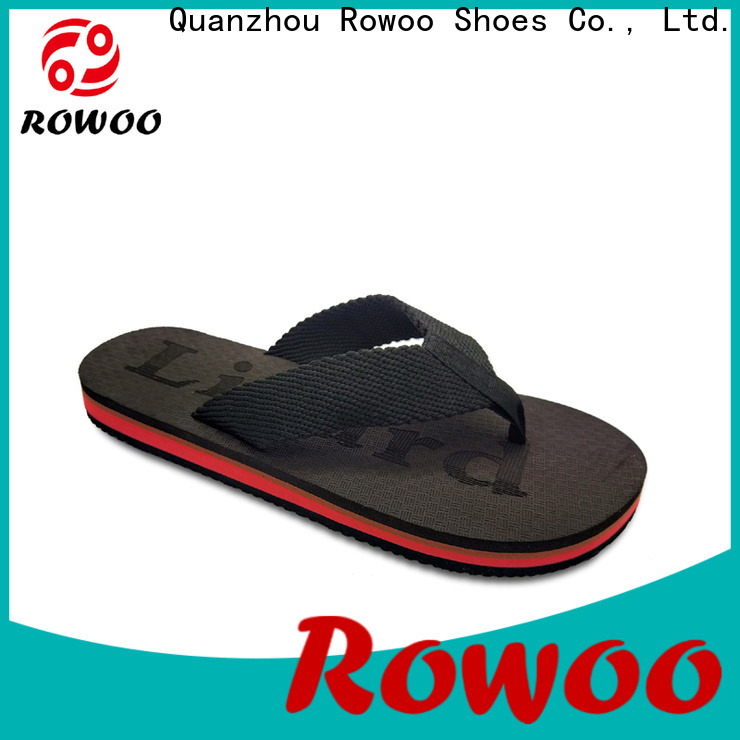 Rowoo professional mens cushioned flip flops