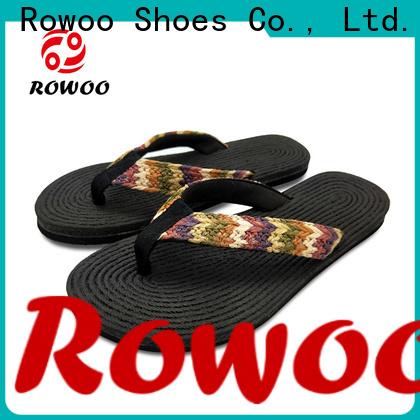 Rowoo New comfortable flip flops womens hot sale