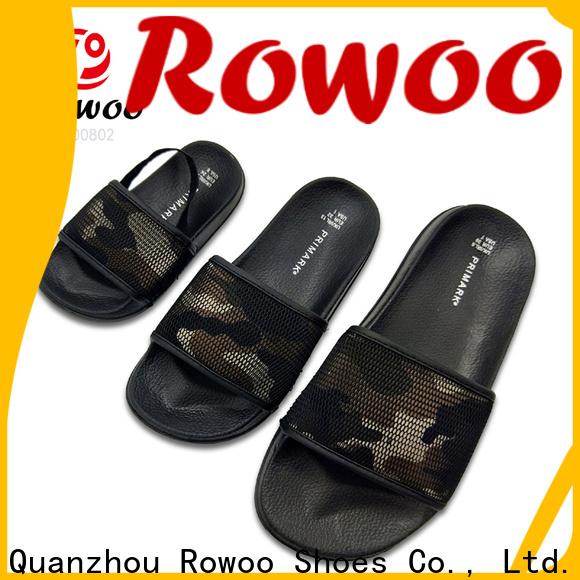 Rowoo men flip flops factory price