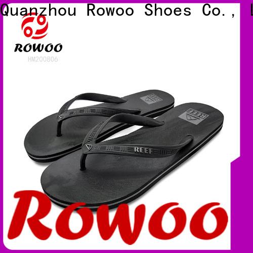 Rowoo beach flip flops mens supplier