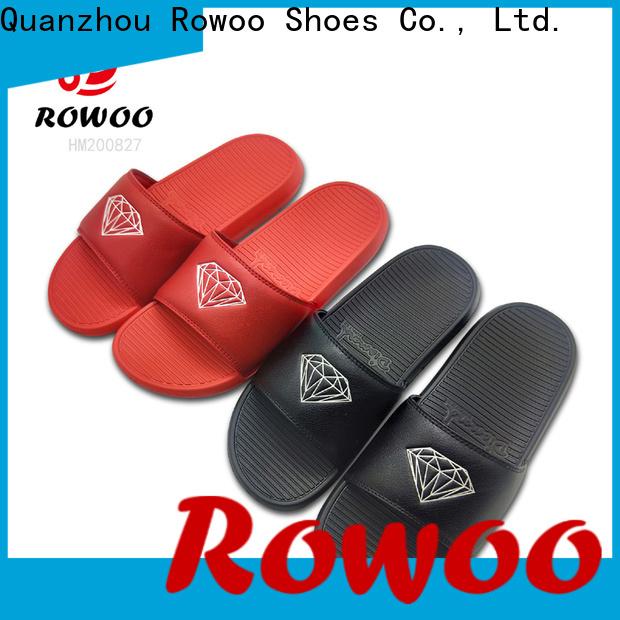 Rowoo Custom cheap mens slides manufacturer