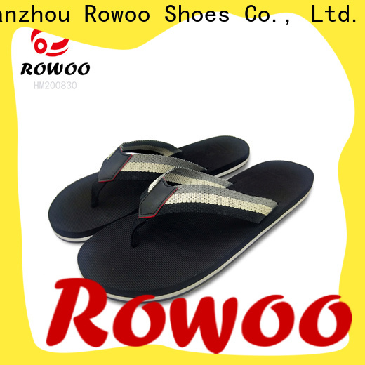 Rowoo Latest mens thong flip flops