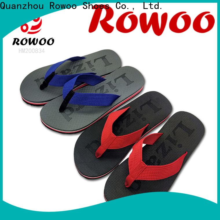 Rowoo High-quality best flip flops for men hot sale